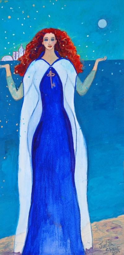 Celtic Goddess Art - Dahut