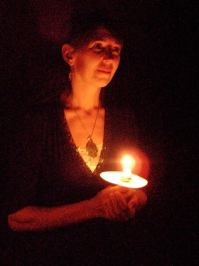 Mairam Govand, Armenian candle dance with Laura Shannon and the Findhorn Sacred Dance Group at the Findhorn Community Winter Gathering. Photo: Findhorn Community.