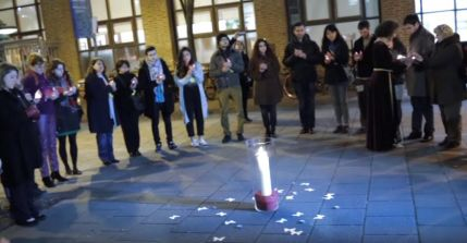 Armenians, Turks, Kurds and Assyrians to light candles and dance together for peace and reconciliation Photo: Hratch Tchilingirian