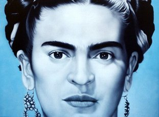 Frida Kahlo lithograph