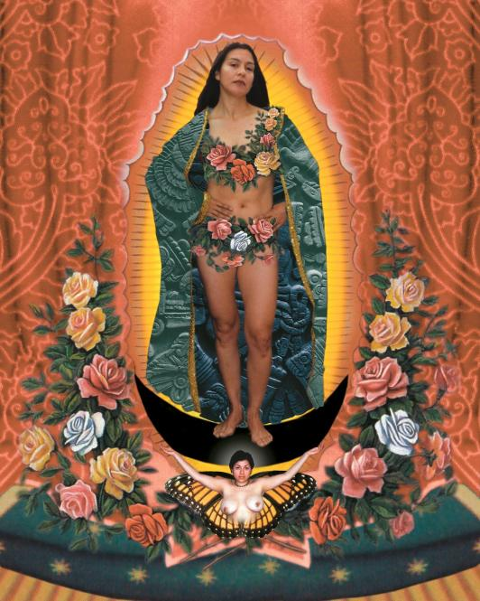 """Our Lady"" by Alma Lopez (1999)"