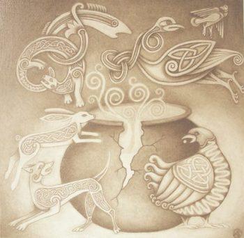 The Cauldron of Ceridwen by Katherine Sunderland