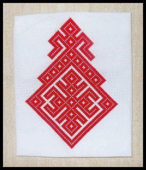 Slavic Goddess Embroidery