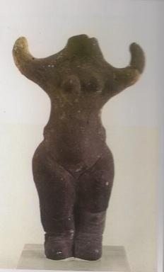 3. 5000 BCE Stara Zagora, BG - Goddess with upraised arms