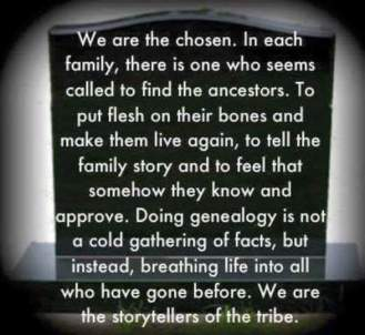 Genealogists breath of life