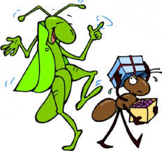 Grasshoppper and ant