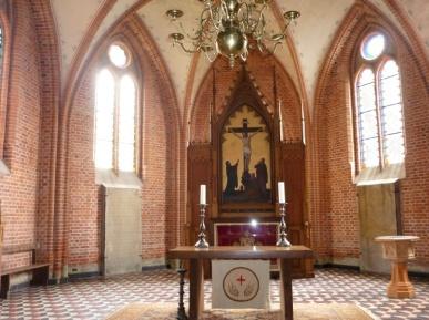 The church in Parum