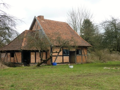 A traditional house in Parum