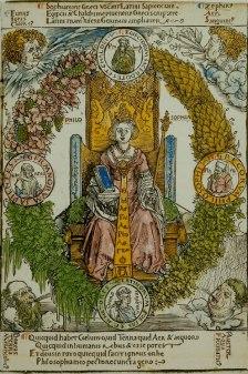 Philosophy, Albrecht Dürer (1502)(Die Bayerische Staatsbiliothek)