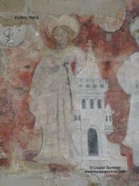 Original chalkpainting of Magdalene_Fotor