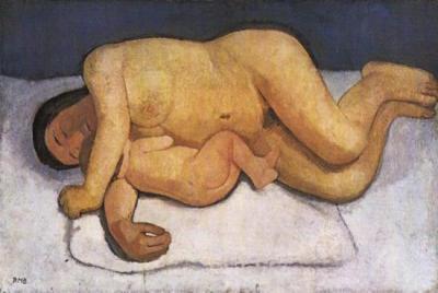 Paula Modersohn-Becker, Mother and Child