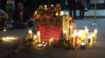 Long Beach vigil