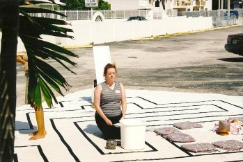 Labyrinth activity at a retreat in Miami, 2003