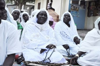 Senegalese Women Leading Dhikr