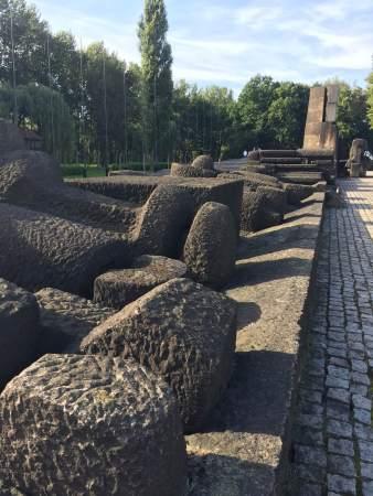 large stone memorial