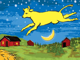Cow, moon