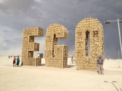 EGO - Burning Man 2012 by Bexx Brown-Spinelli
