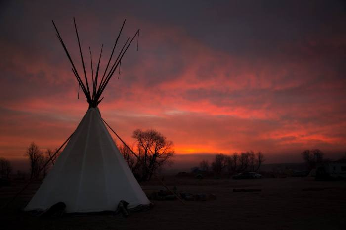 Oceti Sakowin Camp - Standing Rock Photo by Mark Waller