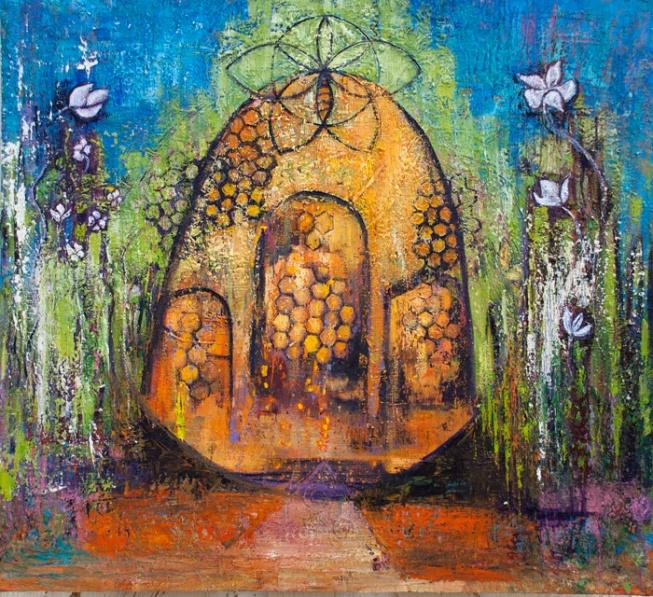brigids-garden-painting-by-judith-shaw