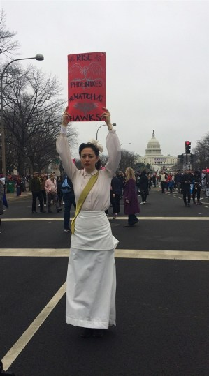 woman-protests-trump