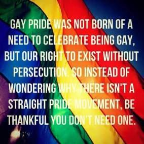 gay pride slogan