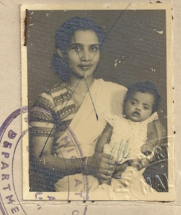 Dawn Morais Webster and mother