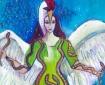 Corra, celtic goddess art