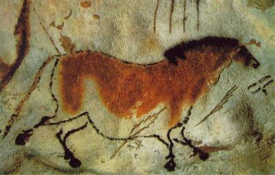 Horse-painting-Lascaux-France