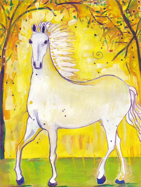 Horse-Spirit-Guide-painting-by-judith-shaw