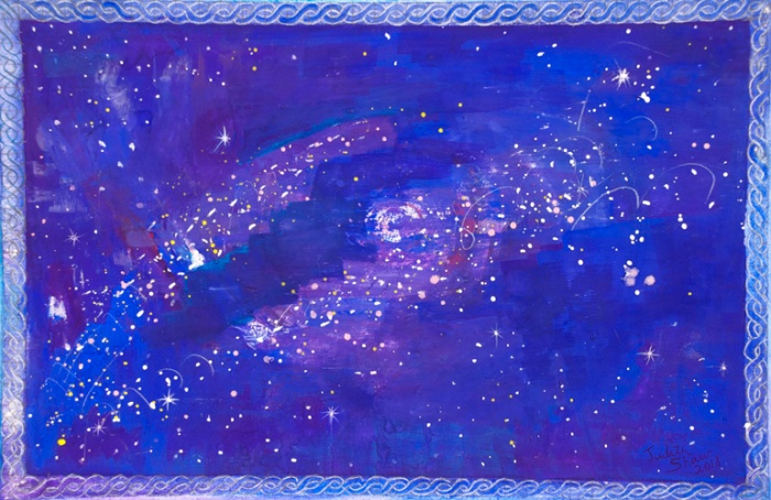 Starstuff-painting-by-judith-shaw