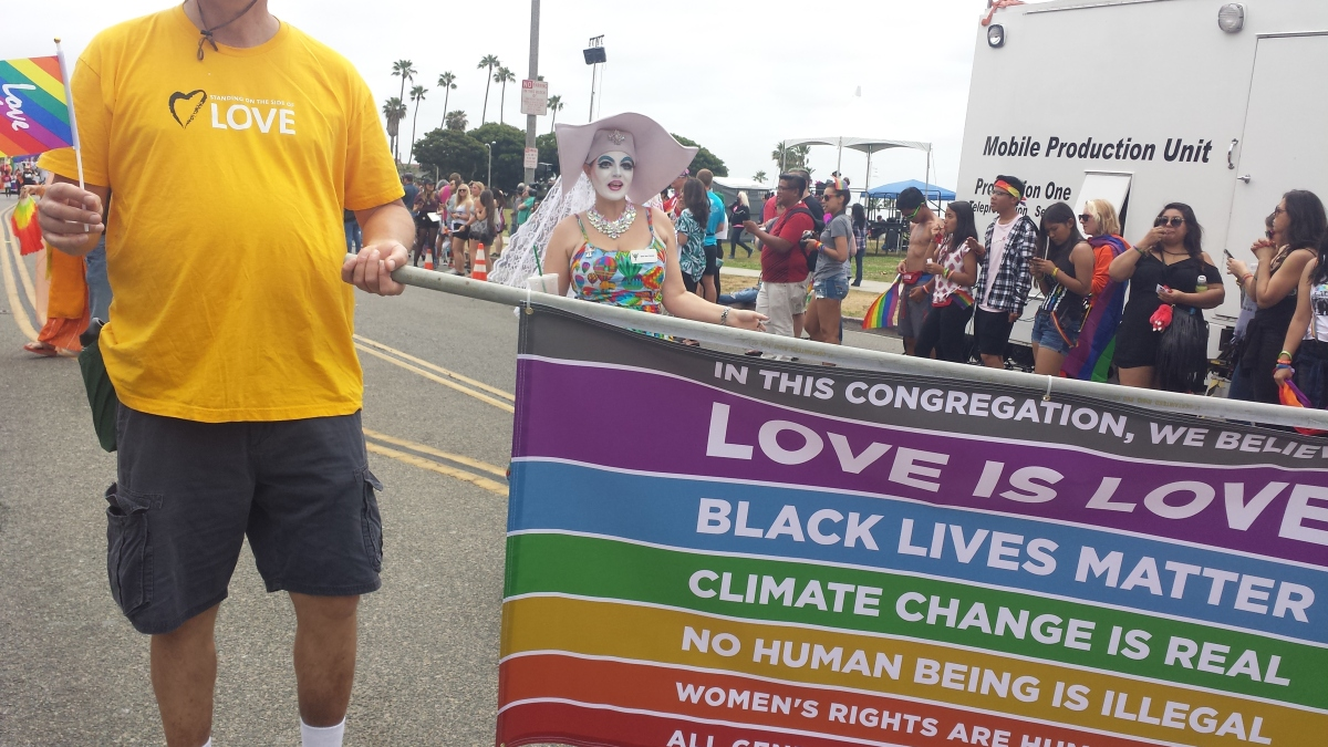 Long Beach, California - 2018 Pride! by Marie Cartier