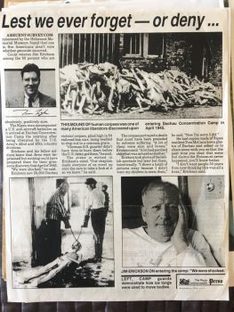 Grandpa Jim - Holocaust Article