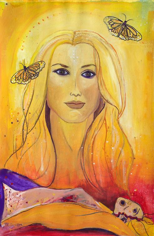 Tribute-to-Viktoria-Maroniva-painting-by-judith-shaw