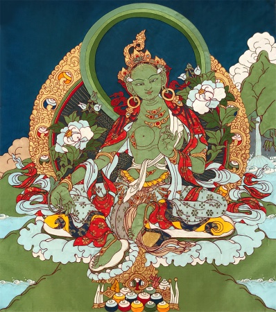 Mantra and Meditation in Buddhist Hospice Chaplaincy to