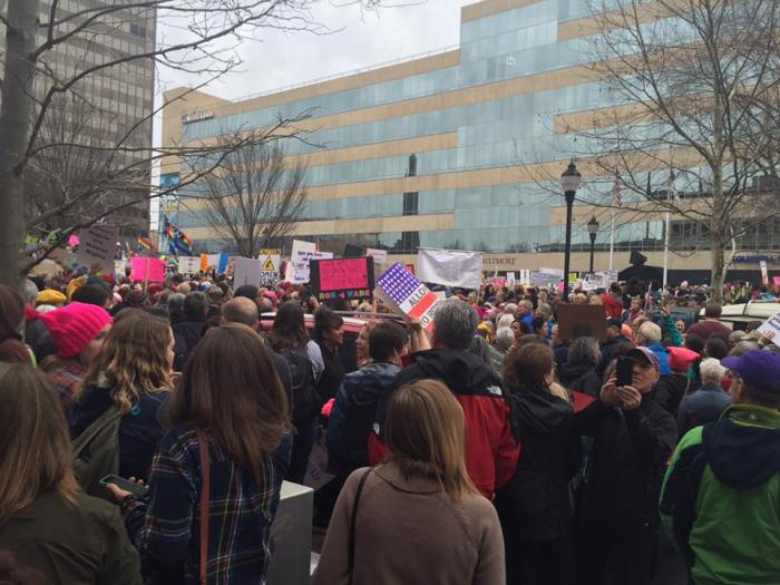 march in asheville 2017