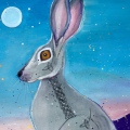 hare-painting-by-judith-shaw
