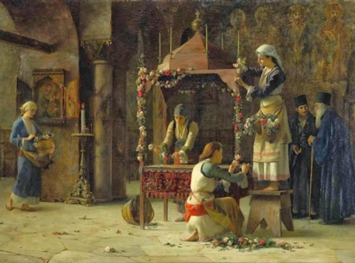 'Good Friday', by the 19th-C Greek painter Theodoros Rallis
