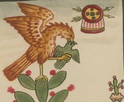 Aztec-eagle-myth