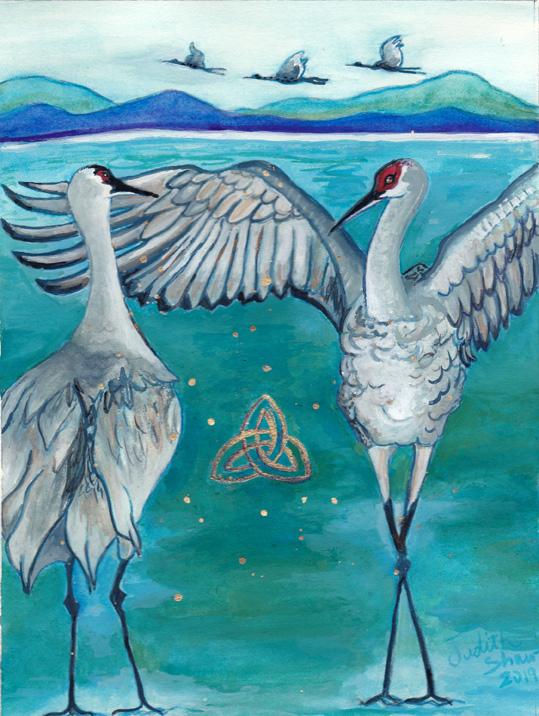 Crane Spirit Guide