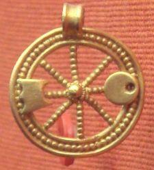Celtic Votive Wheel
