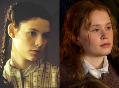 Image of Claire Danes (left) as Beth in Armstrong's 2000 adaptation and Eliza Scanlen (right) as Beth in Gerwig's 2019 adaptation
