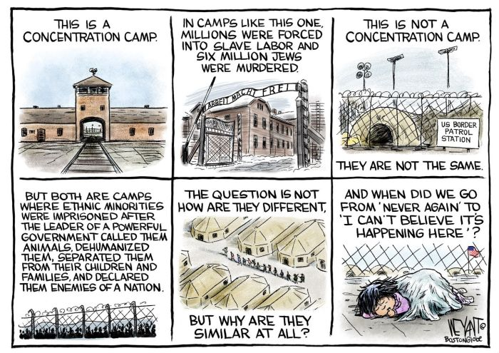 holocaust satire comic