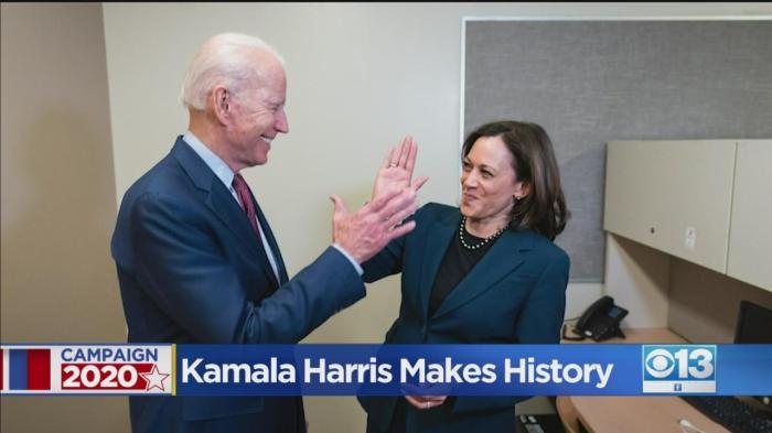 harris making history
