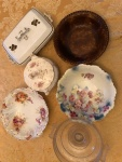 Collection of inherited heirloom antique bowls