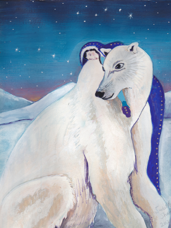 polar-bear-painting-by-judith-shaw